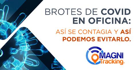 BROTES DE COVID EN OFICINA: ASÍ SE CONTAGIA Y ASÍ PODEMOS EVITARLO.