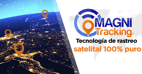 Tecnología de rastreo satelital 100% puro