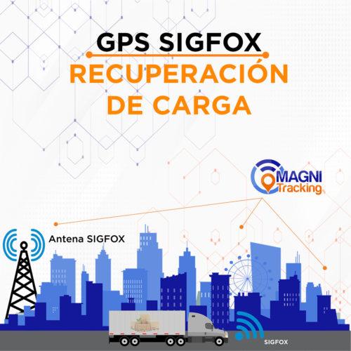 GPS Sigfox Magnitracking para la recuperación de unidad y carga